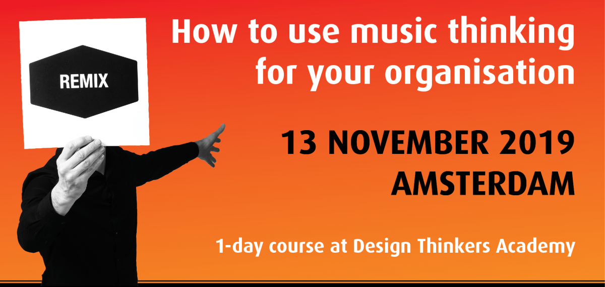 How to use music thinking for your team or organisation