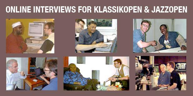 Christof Zürn Online Interviews for Klassikopen and Jazzopen