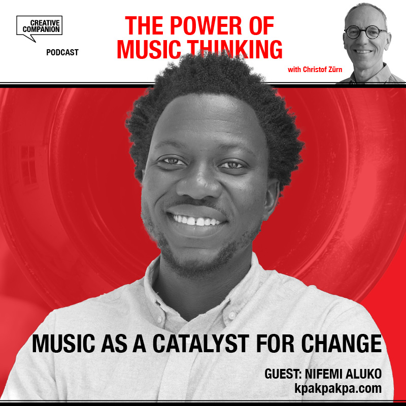 Nifemi Aluko, Music as a catalyst for change