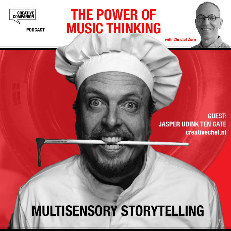 Multi-Sensory Storytelling, Creative Chef, Jasper Udink ten Cate